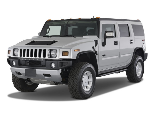 Rent a Hummer H2 4x4  car in Crete