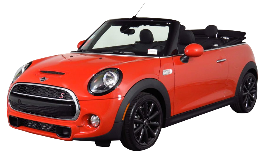 Rent a Mini Cooper  Convertible car in Crete
