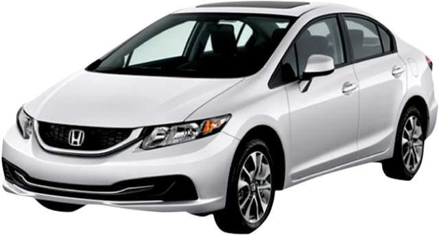 Rent a car Honda Civic from Rac SA