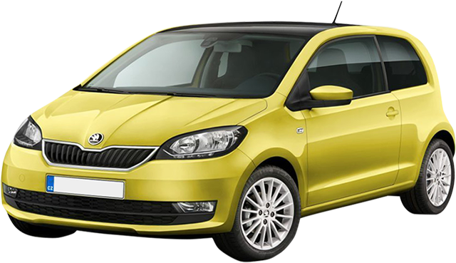 Rent a car Skoda Citigo Automatic from Rac SA