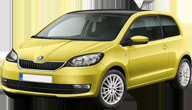 Alquilar un coche Skoda Citigo Automatic desde Rac SA
